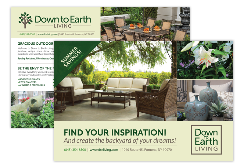 Down to Earth Postcards