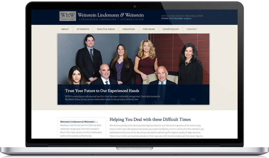 Website Design for Law Firms